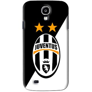 Snooky Printed Football Club Mobile Back Cover For Samsung Galaxy S4 - Black