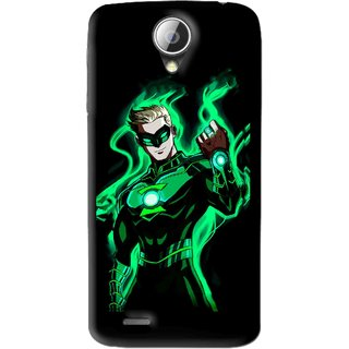 Snooky Printed Come On Mobile Back Cover For Lenovo A830 - Black