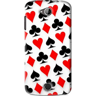 Snooky Printed Playing Cards Mobile Back Cover For Acer Liquid Z530 - Multi