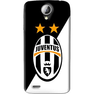 Snooky Printed Football Club Mobile Back Cover For Lenovo A830 - Black