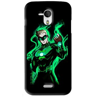 Snooky Printed Come On Mobile Back Cover For Micromax Canvas HD A116 - Black