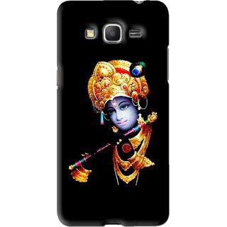 sale retailer 60fd7 ad985 Snooky Printed God Krishna Mobile Back Cover For Samsung Galaxy Grand Prime  - Black