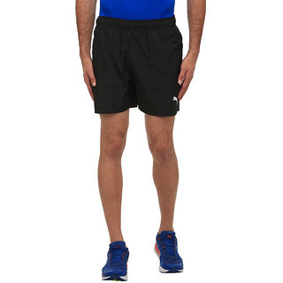 Puma Mens Black Ess Woven Shorts