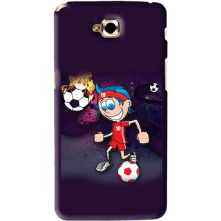Snooky Printed My Game Mobile Back Cover For Lg G Pro Lite - Puple