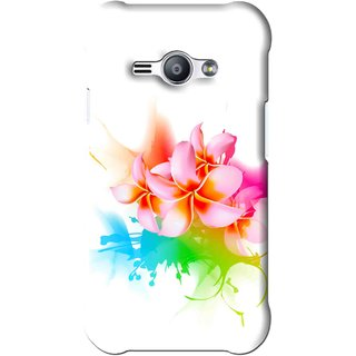 Snooky Printed Colorfull Flowers Mobile Back Cover For Samsung Galaxy Ace J1 - Multi