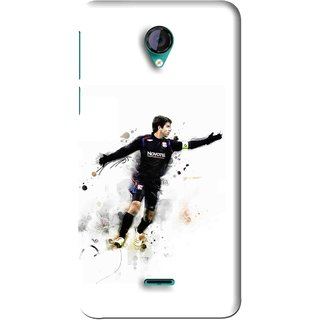 Snooky Printed Pass Me Mobile Back Cover For Micromax Canvas Unite 2 - White