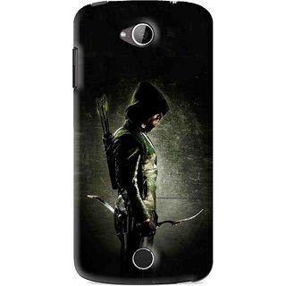 Snooky Printed Hunting Man Mobile Back Cover For Acer Liquid Z530 - Black