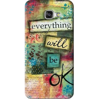 Snooky Printed Will Ok Mobile Back Cover For Samsung Galaxy A5 2016 - Multi