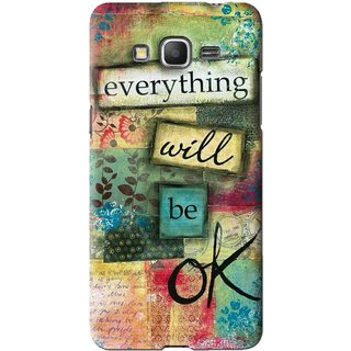 Snooky Printed Will Ok Mobile Back Cover For Samsung Galaxy Grand Prime - Multi