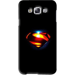 Snooky Printed Super S Mobile Back Cover For Samsung Galaxy A5 - Black