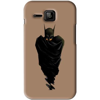 Snooky Printed Hiding Man Mobile Back Cover For Micromax Bolt S301 - Brown
