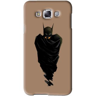 Snooky Printed Hiding Man Mobile Back Cover For Samsung Galaxy A5 - Brown