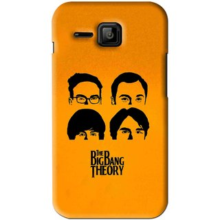 Snooky Printed Bigbang Mobile Back Cover For Micromax Bolt S301 - Yellow