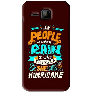 Snooky Printed Monsoon Mobile Back Cover For Micromax Bolt S301 - Brown