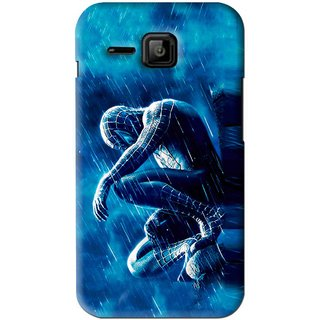 Snooky Printed Blue Hero Mobile Back Cover For Micromax Bolt S301 - Blue