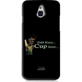 Snooky Printed World cup Jeeto Mobile Back Cover For Infocus M2 - Black
