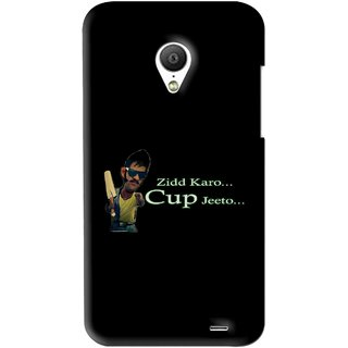 Snooky Printed World cup Jeeto Mobile Back Cover For Meizu MX3 - Black