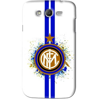 Snooky Printed Sports Lovers Mobile Back Cover For Samsung Galaxy Grand - White