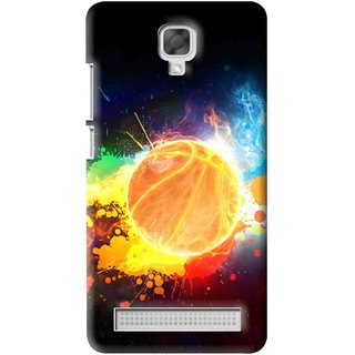 Snooky Printed Paint Globe Mobile Back Cover For Micromax Bolt Q331 - Multi
