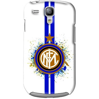 Snooky Printed Sports Lovers Mobile Back Cover For Samsung Galaxy S3 Mini - White