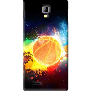Snooky Printed Paint Globe Mobile Back Cover For Micromax Canvas Xpress A99 - Multi