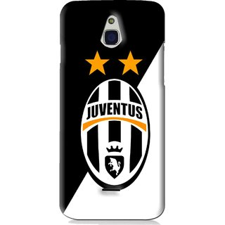 Snooky Printed Football Club Mobile Back Cover For Infocus M2 - Black