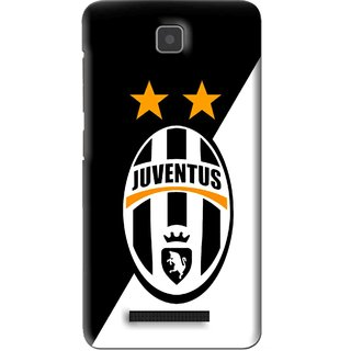 Snooky Printed Football Club Mobile Back Cover For Lenovo A1900 - Black