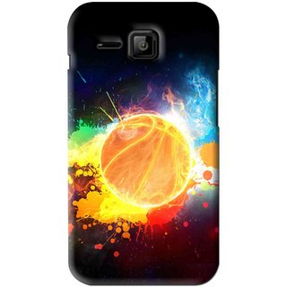 Snooky Printed Paint Globe Mobile Back Cover For Micromax Bolt S301 - Multi