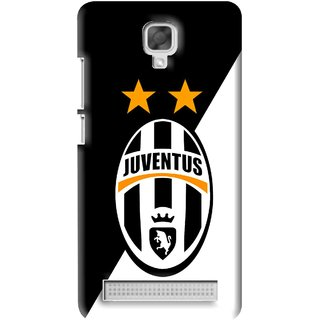 Snooky Printed Football Club Mobile Back Cover For Micromax Bolt Q331 - Black