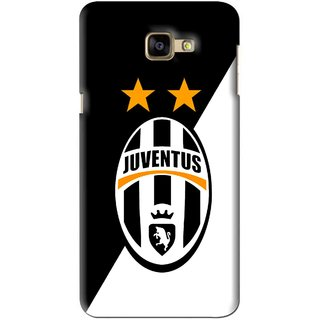 Snooky Printed Football Club Mobile Back Cover For Samsung Galaxy A9 - Black