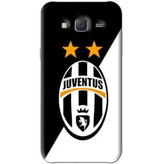 Snooky Printed Football Club Mobile Back Cover For Samsung Galaxy J5 - Black
