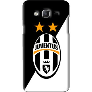 Snooky Printed Football Club Mobile Back Cover For Samsung Galaxy On5 - Black