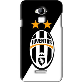 Snooky Printed Football Club Mobile Back Cover For Coolpad Dazen Note 3 - Black