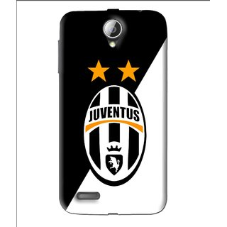 Snooky Printed Football Club Mobile Back Cover For Lenovo A850 - Black