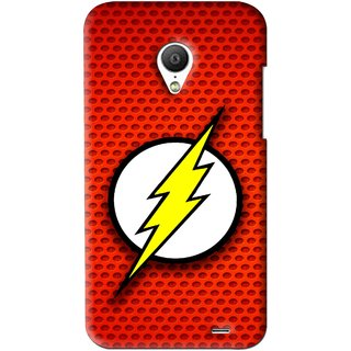 Snooky Printed Dont Touch Mobile Back Cover For Meizu MX3 - Red