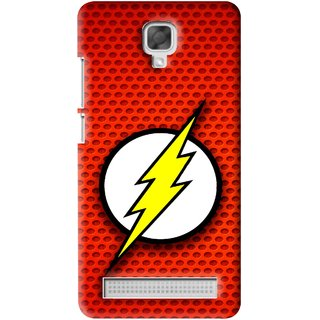 Snooky Printed Dont Touch Mobile Back Cover For Micromax Bolt Q331 - Red