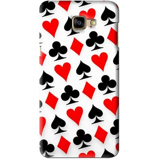 Snooky Printed Playing Cards Mobile Back Cover For Samsung Galaxy A9 - Multi