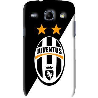 Snooky Printed Football Club Mobile Back Cover For Samsung Galaxy 8262 - Black
