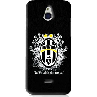 Snooky Printed Signora Mobile Back Cover For Infocus M2 - Black