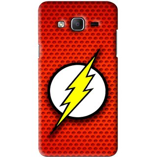 Snooky Printed Dont Touch Mobile Back Cover For Samsung Galaxy On5 - Red