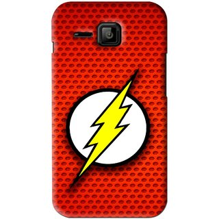 Snooky Printed Dont Touch Mobile Back Cover For Micromax Bolt S301 - Red