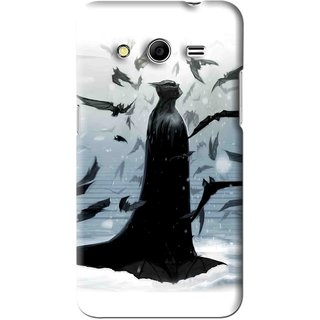 Snooky Printed Black Bats Mobile Back Cover For Micromax Canvas Nitro 3 E455 - Black