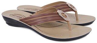 Women's Krocs PU Prumium Flip Flop, Sandal, Slipper