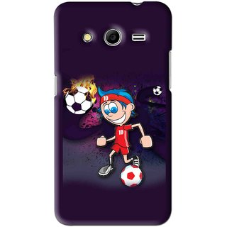 Snooky Printed My Game Mobile Back Cover For Micromax Canvas Nitro 3 E455 - Puple