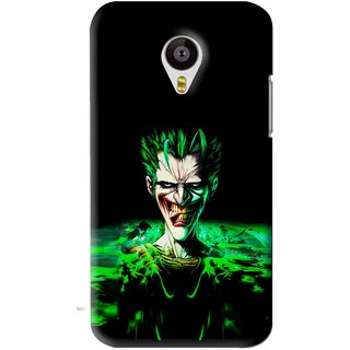 Snooky Printed Daring Joker Mobile Back Cover For Meizu MX4 - Green