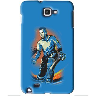 Snooky Printed I M Best Mobile Back Cover For Samsung Galaxy Note 1 - Blues