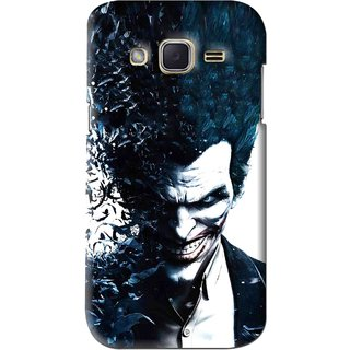 Snooky Printed Freaking Joker Mobile Back Cover For Samsung Galaxy j2 - Black