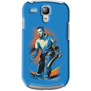 Snooky Printed I M Best Mobile Back Cover For Samsung Galaxy S3 Mini - Blues