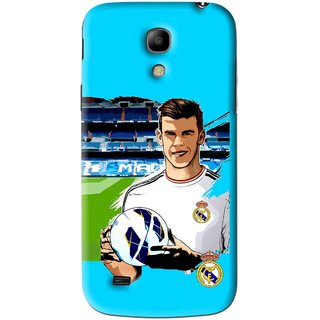 Snooky Printed Football Champion Mobile Back Cover For Samsung Galaxy s4 mini - Blue
