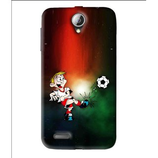 Snooky Printed My Passion Mobile Back Cover For Lenovo A850 - Multi